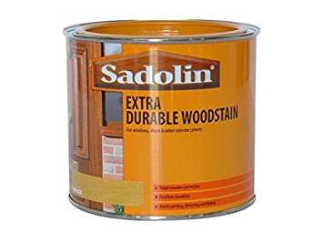 Sadolin Extra Durable Holzlasur Eiche Hell 0 5 L Amazon De Baumarkt
