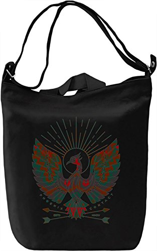 Hipster Phoenix Borsa Giornaliera Canvas Canvas Day Bag| 100% Premium Cotton Canvas| DTG Printing|