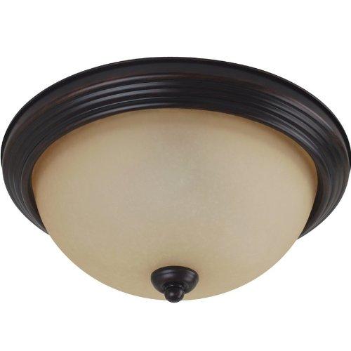 Seagull 77063-710 One Light Ceiling Flush Mount