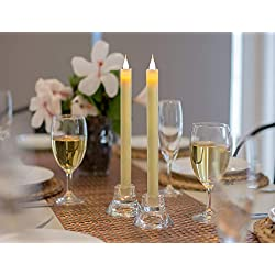 Flamelike Candles - Flameless Taper Candles with T