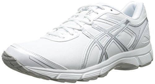 ASICS Women's Gel Quick WK 2 SL Walking Shoe,White/Silver,10.5 M US - Supreme Legends Grips