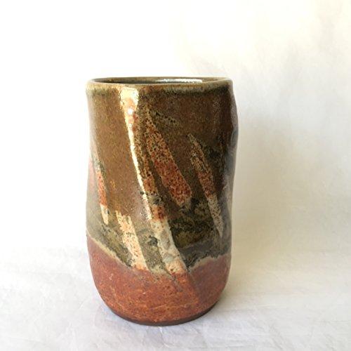 asymmetric Flower Pot, Vase, Handmade wheel thrown Vase, ACMJUL17V12