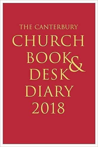 Canterbury church book and desk diary 2020