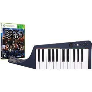 Mad Catz Rock Band 3 Wireless Keyboard Bundle with Rock Band 3 Software -Xbox 360