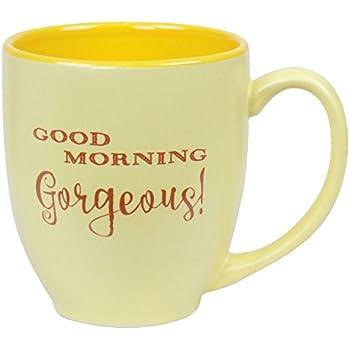 Smart Tart Good Morning Gorgeous Coffee Mug, 15oz