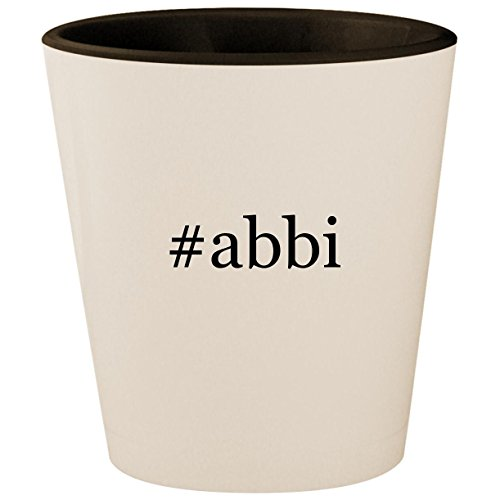 #abbi - Hashtag White Outer & Black Inner Ceramic 1.5oz for sale  Delivered anywhere in USA