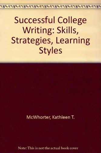 Successful College Writing: Skills, Strategies, Learning Styles, Annotated Instructor's  Edition