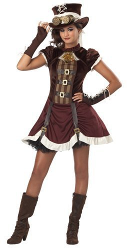 Steampunk Girl Tween Costumes (California Costumes Steampunk Girl Tween Costume, Large by California Costumes)