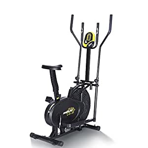 Proflex XTR3 Elite 5in1 Elliptical Cross Trainer & Exercise Bike with Resistance Bands