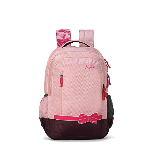 Skybags Pluto 02 Pink Backpack