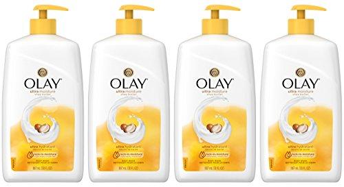 Olay Ultra Moisture Shea Butter Body Wash, 30 Fluid Ounce (Pack of 4) ()