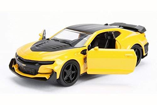 - Transformers Jada 5 Chevy Camaro Bumblebee JADA 98399 1/24 DIECAST CAR Hollywood Rides