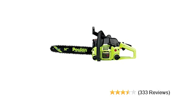 Amazon poulan p3314 14 inch 33cc 2 cycle gas powered chain saw amazon poulan p3314 14 inch 33cc 2 cycle gas powered chain saw chainsaw garden outdoor greentooth Choice Image