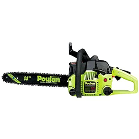 Amazon poulan p3314 14 inch 33cc 2 cycle gas powered chain poulan p3314 14 inch 33cc 2 cycle gas powered chain saw greentooth Images