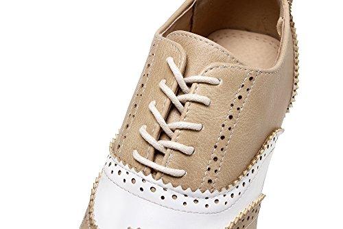 MissSaSa Femmes Chaussures Beige MissSaSa Femmes Derbies BFnqPfxTw0