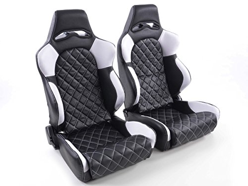 FK sport seats car semi-bucket seats set Las Vegas racing seats motorsports look FKRSE011021: