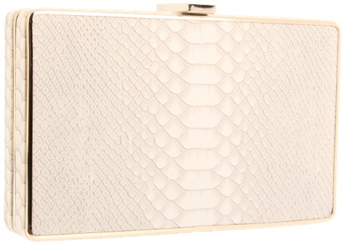 BCBG Thea NOY324EP Clutch,Off White,One Size, Bags Central