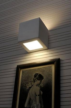 Lampe Murale Design Applique Murale De Céramique Plâtre À Peindre