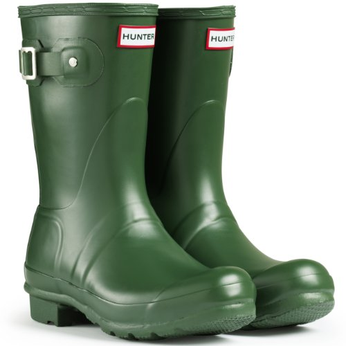 Short Original Unisex greens Hunter Gloss Rubber Verde Boot qE6xd5nw