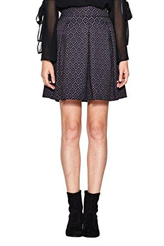 ESPRIT Collection Jupe Femme Noir (Black 001)