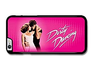 "AMAF ? Accessories Dirty Dancing Pink Background Baby and Johnny Patrick Swayze case for iPhone 6 Plus (5.5"")"