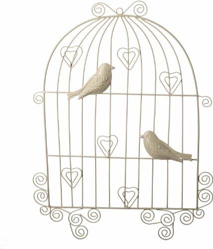 Tapiz de pared hecho de jaula de pájaros Metal con enganches para ...