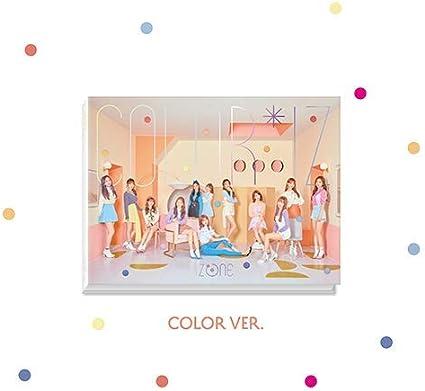Amazon.com: IZONE - [ColorIz] 1er Mini Álbum Color VER CD+ ...