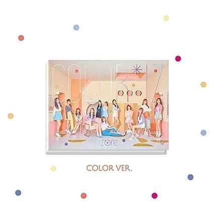 IZONE - [ColorIz] 1st Mini Album Color VER CD+PhotoBook+PhotoCards+Tracking  K-POP Sealed