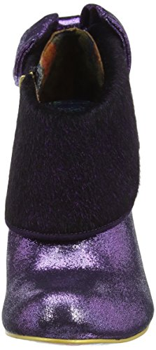 Irregular Choice Love Means, Zapatos de Tacón mujer Morado  (Purple)