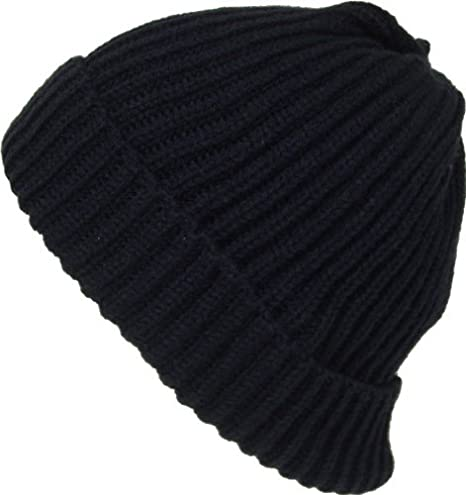 9f1756839a6 Amazon.com  Alki i Premium Cuffed thick warm beanie snowboarding winter hats  - Navy  Clothing