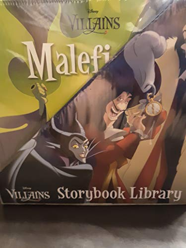 (Disney Villains Storybook Library in Slipcase)