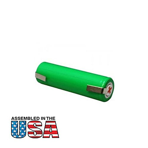 Exell 1.2V Razor Battery Fits Norelco 5601X, 5602X, 5603X, 5605X, 5810XL, 5811XL, 5814XL, 5818XL, 6890XL, 6891XL, 7800XL, 8880XL, 8890XL, 8891XL, 8892XL, Fits Remington models: MS-280, MS-290, - Male Model Face Shape