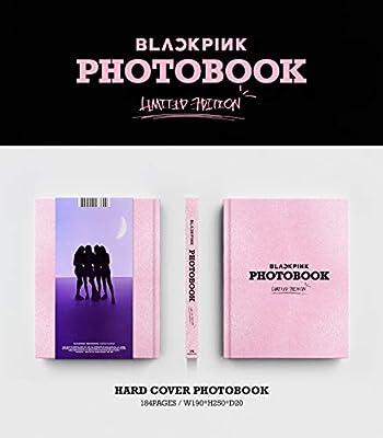 Blackpink PHOTOBOOK Limited Edition 184p Photobook+4Postcards+On Pack Poster+Double Side Extra Photocards Set YG Blackpink