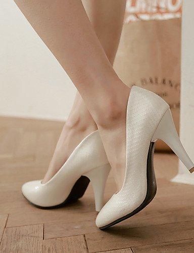GGX/Damen Heels Frühling/Sommer/Herbst/Winter Heels/Basic Pumpe/spitz Toe Office Karriere/Kleid/Casual Stiletto-Absatz black-us7.5 / eu38 / uk5.5 / cn38