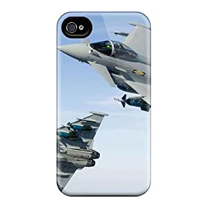 Hot Fashion WRqx3400 Design Case Cover For Iphone 4/4s Protective Case (typhoons 11th Squadron Raf)