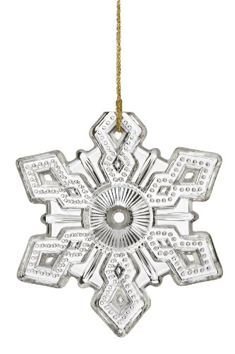 Marquis by Waterford ® Annual Snowflake, Limited Editions, Christmas Ornament 2010