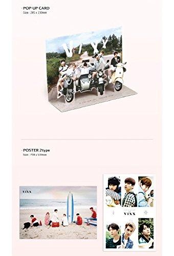 2016 Photobook Travel Diary with VIXX [+ DVD + Secret Envelope + Extra Photocard Set] Photo #2