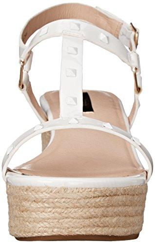 Women's kensie White Tavi Platform Sandal dwqxwr1