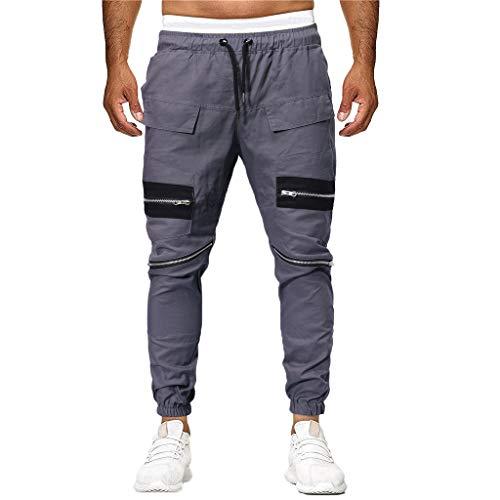 Athleisure Men's Sport Joint Lashing Patchwork Loose Casual Soft Sweatpants Drawstring Pant MITIY, M-4XL