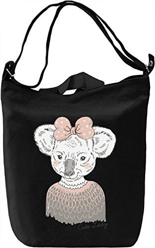 Cute koala Borsa Giornaliera Canvas Canvas Day Bag| 100% Premium Cotton Canvas| DTG Printing|