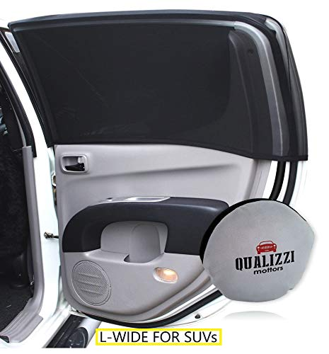 L-Wide/Car Sun Shades That Fit Most of SUV's Windows Up to 48
