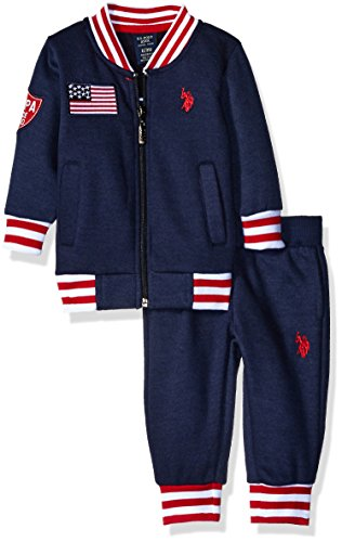 U.S Boys Fleece Jog Set POLO ASSN