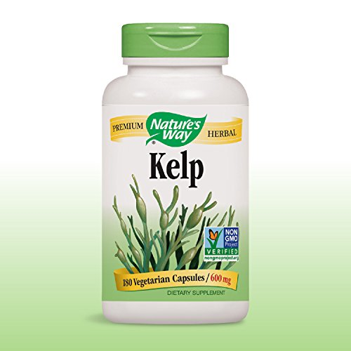 Nature S Way Kelp  Mg  Capsules