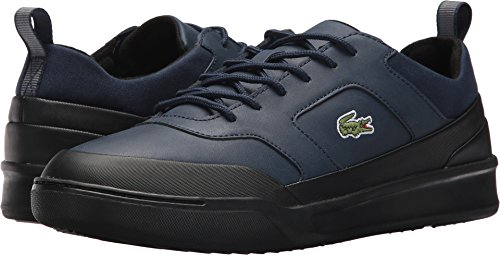Explorateur 417 Men's Lacoste 2 Navy Sneaker Black Sport qwaqgt