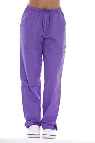 (Dreamcrest Scrub Pants - Purple 23240P-XL)
