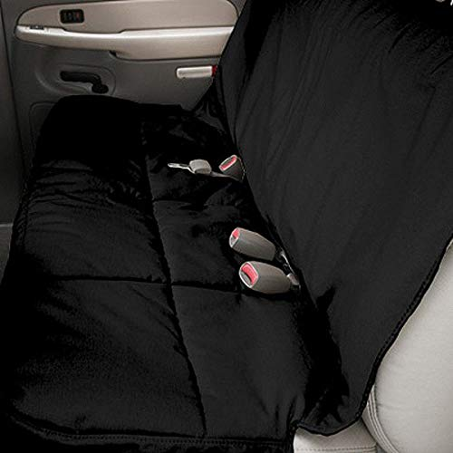Canine Covers 2nd Row Semi-Custom Fit Seat Protector - Polycotton (Black) ()