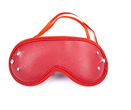 Sexy Funny Red Eye Mask with Drill Masquerade Halloween Cosplay Costume Party Accessories -