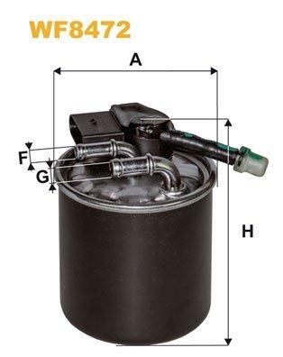 WIX FILTERS WF8472 Fuel Injectors: