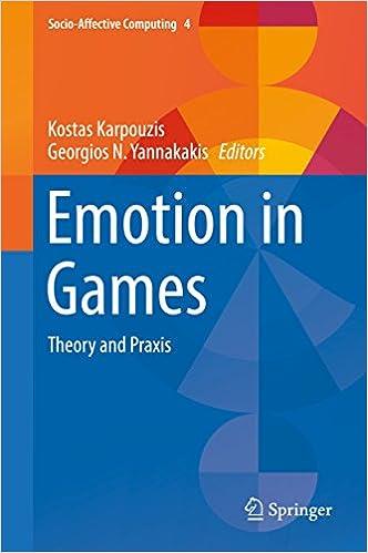 Emotion in Games. Springer