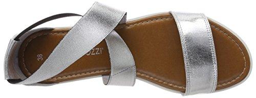 Tozzi 28361 Bride Comb Cheville Sandales Argent Marco Silver Femme Premio 1adqq